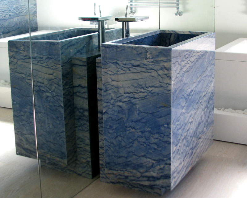 MarmoStudio - Arredo bagno in marmo - top in marmo vasche, lavabo ...